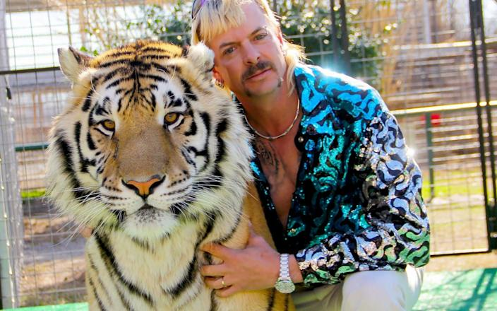 Joe Exotic was not pardoned by Donald Trump - GETTY IMAGES