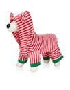 """<p>Get in the festive spirit with this red and white stripy onesie for dogs, designed with a hood with 3D ears.<br></p><p>£10 <a href=""""http://uk.accessorize.com/view/product/uk_catalog/acc_18,acc_18.20/1994656051?skipRedirection=true&utm_medium=cpc&gclid=CKmc3PTHoNACFRAz0wodCvgPjw&gclsrc=aw.ds&dclid=CPyF5PTHoNACFSqm7QodYiEKNQ"""" rel=""""nofollow noopener"""" target=""""_blank"""" data-ylk=""""slk:Accessorize"""" class=""""link rapid-noclick-resp"""">Accessorize</a></p>"""