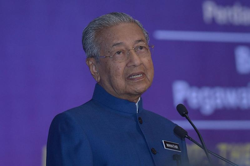 Tun Dr Mahathir Mohamad says the Malays failed to make full of the opportunities presented through the New Economic Policy since its implementation in 1971. — Picture by Mukhriz Hazim