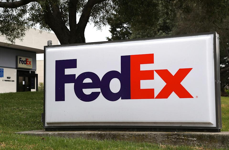 """<div class=""""caption-credit"""">Photo by: Getty Images</div>You see the FedEx logo so often that you might have missed its hidden brilliance: a white arrow between the E and X, giving a sense of forward motion. """"Using negative space in a clever way is a great tool to add a memorable touch,"""" <a href=""""http://www.adamsmorioka.com/about/about-seanadams/"""" rel=""""nofollow noopener"""" target=""""_blank"""" data-ylk=""""slk:Sean Adams"""" class=""""link rapid-noclick-resp"""">Sean Adams</a>, design partner at AdamsMorioka in Beverly Hills and co-author of """"Logo Design Workbook,"""" told Yahoo! Shine. """"Once you see the arrow in the FedEx logo, you can't unsee it in your head."""" <br>"""