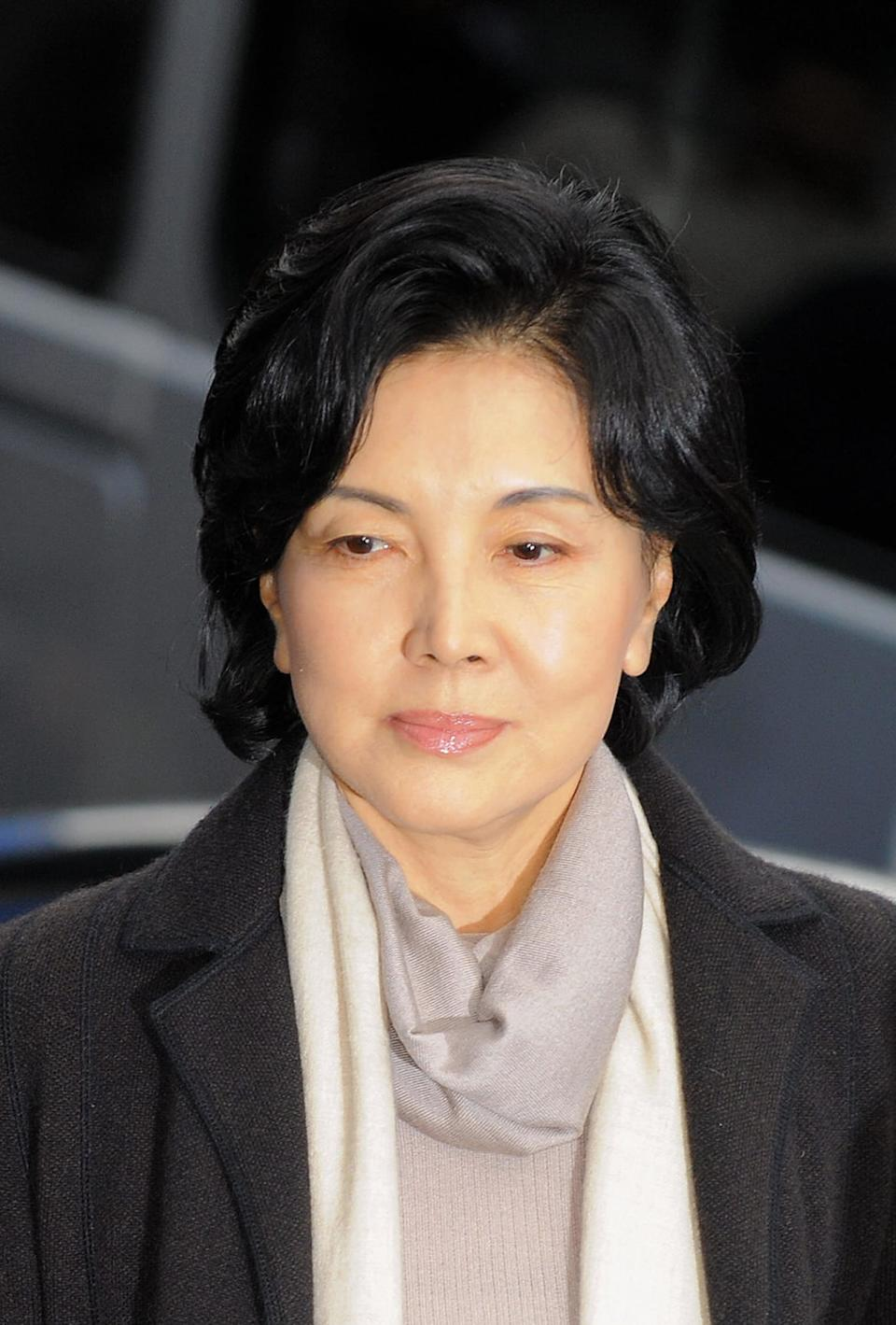 "<div class=""inline-image__caption""><p>Hong Ra-Hee, widow of Samsung Group chairman Lee Kun-Hee</p></div> <div class=""inline-image__credit"">Jung Yeon-Je/AFP via Getty</div>"