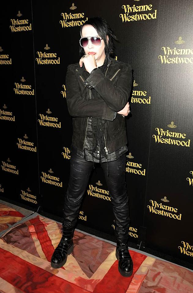 """Dita's ex-hubby, rocker Marilyn Manson, was also in attendance. Wonder if the former couple avoided each other or decided to make nice ... Frazer Harrison/<a href=""""http://www.gettyimages.com/"""" target=""""new"""">GettyImages.com</a> - March 30, 2011"""
