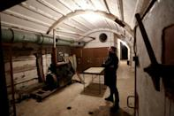 """The Cold War Tunnel Museum in Gjirokastra is part of a vast """"bunkerisation"""" project spearheaded by Albanian tyrant Enver Hoxha, who feared foreign invasion during his 40-year rule"""