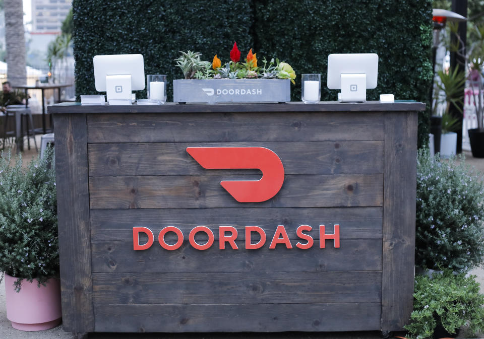 DoorDash has risen to prominence as the food delivery leader in the U.S. through partnerships with major restaurants like Chilis. (Photo by Tibrina Hobson/Getty Images)