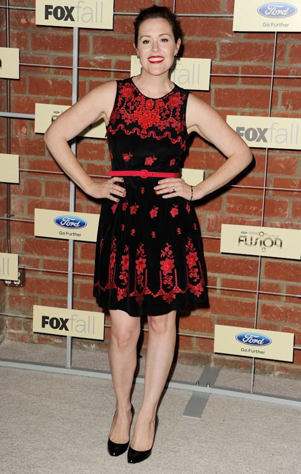 "Rachael MacFarlane (""American Dad!"") attends Fox's Fall 2012 Eco-Casino party at The Bookbindery on September 10, 2012 in Culver City, California."