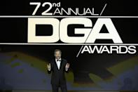 <p>The Directors Guild of America Awards have been moved to April 10, 2021. The show is still scheduled to happen live in LA as planned.</p>