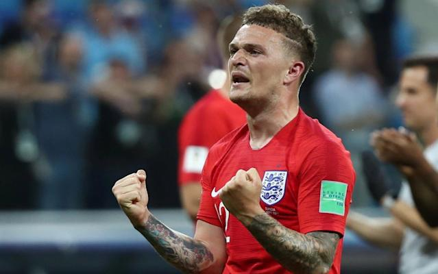 "Kieran Trippier, or the 'Bury Beckham' as he has been christened on social media, has always had a taste for the big occasion, an ability to elevate his level when the pressure is highest. He showed it on Monday night, when he was one of England's standout performers in their opening World Cup match, and he showed it 11 years ago, in the Bury Schools' Cup final. Different stages, certainly, but for a teenaged, shaven-headed Trippier, a final against the local school rivals was as important as anything. ""He would take those games really seriously,"" remembers Lee Garcka, Trippier's PE teacher at Woodhey High School. ""His family were watching, and those were the games when he really shone. He scored a hat-trick, and it was the best hat-trick I have ever seen from any player, at any level."" For his first goal, the 16-year-old Trippier ran from his own half, beating four defenders, and slotted the ball into the corner. The second was a volley from 35 yards, and the third was a curling effort from the edge of the box. At the time, Trippier was progressing through the ranks at Manchester City's academy and was not even supposed to be playing school football. Garcka would often leave for games thinking that Trippier was training with City but then find him half a mile down the road, having rushed home from City, waiting for the school minibus to pick him up. Trippier with his school PE teacher Lee Garcka, who says he has always had the talent for the big occasions Credit: Lee Garcka Jim Cassell, the former youth academy director at City, was all too aware of a teenage Trippier's appetite for simply playing as often as he could. ""There was a period of time where the boys at the academy were stopped from playing for their school,"" Cassell says. ""But I knew that Kieran played, and I never bothered [trying to stop him] because he would play anywhere. I would go to watch my son playing 5-a-side, and Kieran would be there."" Trippier, the youngest of four brothers from the market town of Ramsbottom, had been scouted by Manchester United when he was eight years old, but joined City soon after. ""The thing I remember was that, even as a nine-year-old, Kieran was an absolutely beautiful striker of the ball,"" Cassell says. ""I would say he is probably England's best crosser since David Beckham. He was also a chirpy character, which is what you want to see in kids."" As he grew older, still shining at City, that ""chirpiness"" threatened to become a problem. At the age of 14 or 15, Garcka says Trippier had developed a ""bit of an edge"", and there was concern that he might turn down the wrong path. Pick your England XI to face Panama He was helped by the close mentoring of the school's former headteacher, Martin Braidley, and by Cassell. ""We lived near each other,"" Cassell says, ""so I used to give him a lift home. I would constantly tell him: 'Kieran, if you live right you will make it, big-time.'"" The message sunk in, and Trippier matured in his final years of school as he continued to hone his natural ability at City. He was part of the City team which won the FA Youth Cup in 2008 and in 2010, aged 19, was loaned to Barnsley for his first experience of adult football. The early impressions were good. Trippier arrived with confidence, which bordered on cockiness, and also with resilience. ""He was a young kid at the time but he went straight into the team,"" says David Preece, the former Barnsley goalkeeper. ""He is one of the best players I have ever seen at crossing the ball on the run — that's the one thing that really stood out."" Preece, who changed next to Trippier in the dressing room, used to joke that the slender lad alongside him looked like Stewie Griffin, the cartoon baby from comedy series Family Guy, but there were no issues with physical robustness. ""He was tough,"" Preece says. ""He was never a pushover."" England's team leak is embarrassing for all involved Trippier's excellent performances, including a penchant for scoring free-kicks, earned him a move to Burnley, where the arrival of Sean Dyche added defensive solidity to his more obvious technical talents. Trippier's gratitude to his former manager was evident in December, when he was spotted at the darts with a sign saying 'Ginger Mourinho = Sean Dyche'. Trippier's £3.5 million move to Tottenham Hotspur, in 2015, remains one of the best Premier League bargains in recent years. Under Mauricio Pochettino, and particularly following the departure of Kyle Walker to City last summer, he has become more consistent and more creative. He adapted again, and then adapted to England, where a wing-back role clearly suits his abilities. ""Every time he has to step up, he has been able to do it,"" Garcka says. ""He has done it again and again. Each time he is asked to go up a level, he meets that challenge."" World Cup 2018 