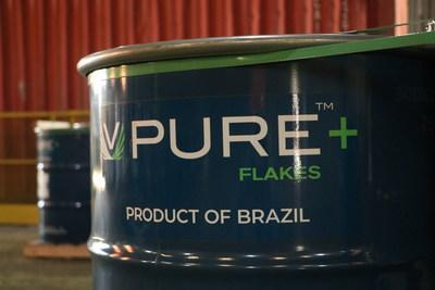 Largo's line of VPURE+™ products are among the highest purity vanadium flake and powder products, globally. (CNW Group/Largo Resources Ltd.)
