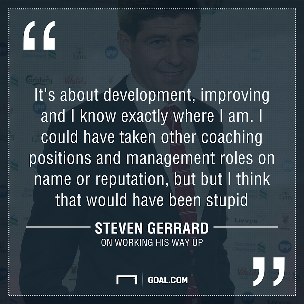 GFX Steven Gerrard quote management