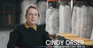 In an October 2020 video statement, Taat advisory board member Dr. Cindy Orser comments on Taat and what she envisions for the Company leading up to its product launch.