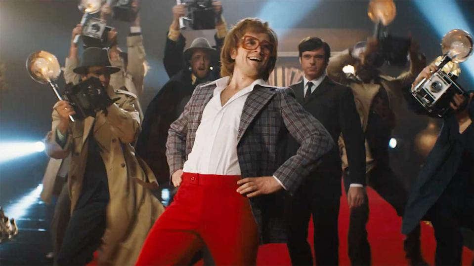Taron Egerton as Elton John in Rocketman (credit: Paramount)