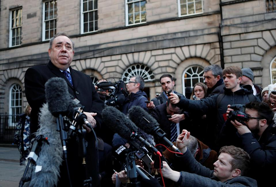 <em>Mr Salmond won a procedural case against the Scottish Government over its investigation into harassment allegations brought by two women (Picture: REUTERS/Russell Cheyne)</em>