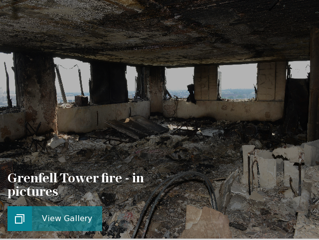 Grenfell Tower fire in pictures
