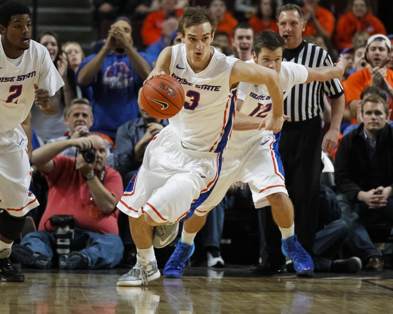 Boise State overpowers rival Idaho 98-89