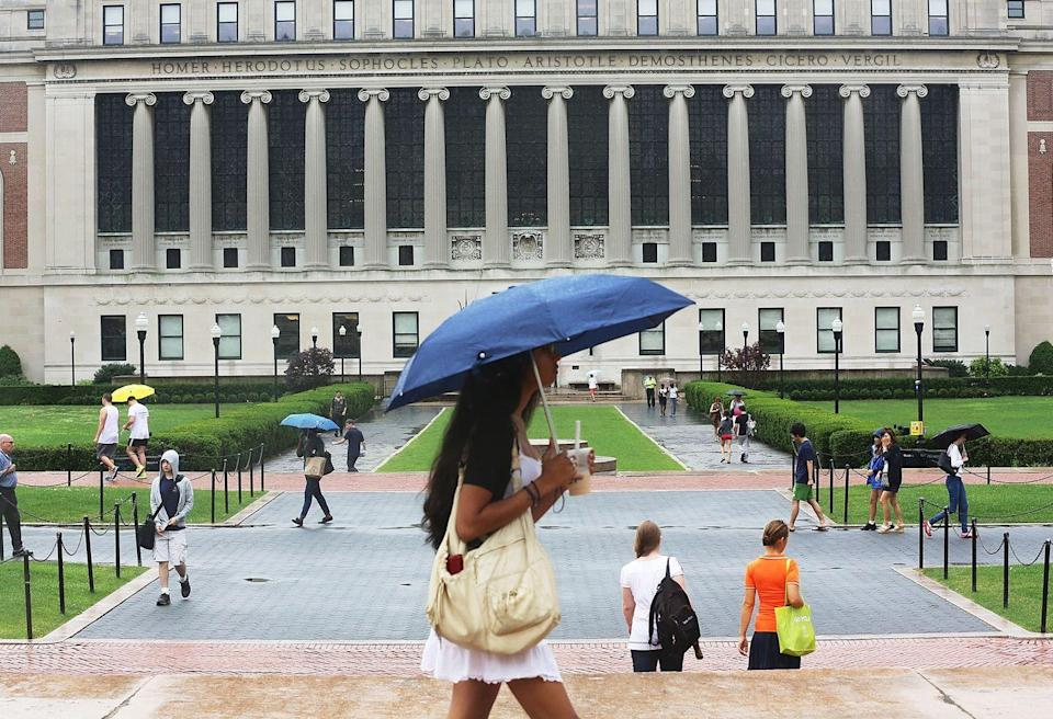 """<p>Even if your college days are in the past, you can still explore the city's only Ivy League institution. Head out on a <a href=""""http://www.columbia.edu/files/columbia/content/walking-tour-and-map-2016.pdf"""" rel=""""nofollow noopener"""" target=""""_blank"""" data-ylk=""""slk:self-guided tour"""" class=""""link rapid-noclick-resp"""">self-guided tour</a> or choose one of the options with a guide, including one that covers the <a href=""""https://visiting.site.drupaldisttest.cc.columbia.edu/content/historical-tour-registration"""" rel=""""nofollow noopener"""" target=""""_blank"""" data-ylk=""""slk:history, architecture, and sculpture of the Morningside Heights campus"""" class=""""link rapid-noclick-resp"""">history, architecture, and sculpture of the Morningside Heights campus</a>. For more architectural splendor in the neighborhood, don't miss the <a href=""""https://www.tripadvisor.com/Attraction_Review-g60763-d136029-Reviews-Cathedral_Church_of_Saint_John_the_Divine-New_York_City_New_York.html"""" rel=""""nofollow noopener"""" target=""""_blank"""" data-ylk=""""slk:Cathedral of Saint John the Divine"""" class=""""link rapid-noclick-resp"""">Cathedral of Saint John the Divine</a>. </p>"""