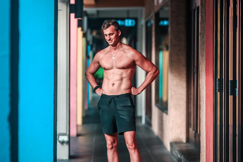 Florian hopes to achieve the best shape of his life by the end of this year.