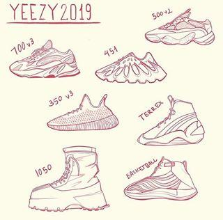 brand new 08e52 9ecc4 These Are the New Yeezy Styles Dropping in 2019