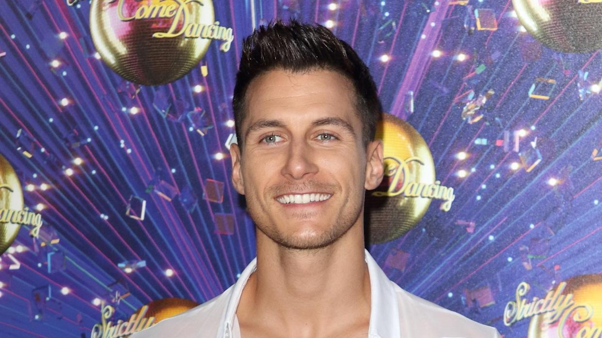 Gorka Marquez at the 'Strictly' launch. (PA)