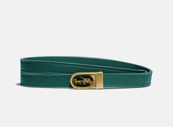 Horse And Carriage Buckle Belt. Image via Coach.