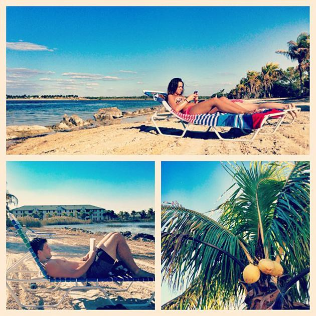 Just another #beautiful day at the #FGCU #CampusBeach.