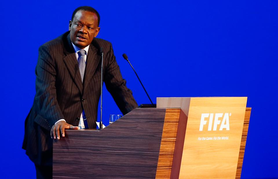FIFA banned Yves Jean-Bart for life. (Photo by Alexandre Schneider/Getty Images)