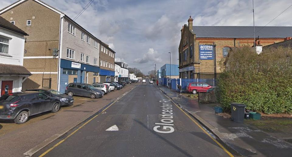 The stabbing took place on Gloucester Road in Croydon (Google)