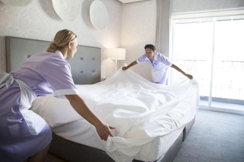 Hotel cleaners have revealed the craziest things they've discovered in hotel rooms. Photo: Getty Images