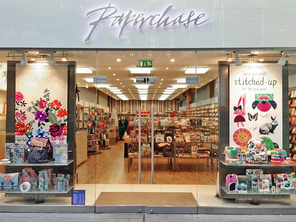 Paperchase store