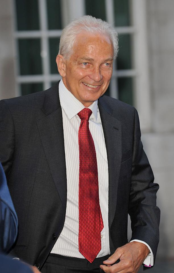 David Gower attends the premiere of 'From The Ashes' at The Curzon Mayfair on May 10, 2011 in London, England. (Photo by Ferdaus Shamim/WireImage)
