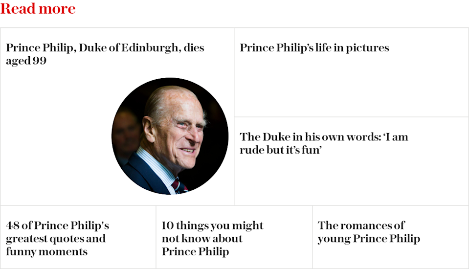 Prince Philip the man - Read more