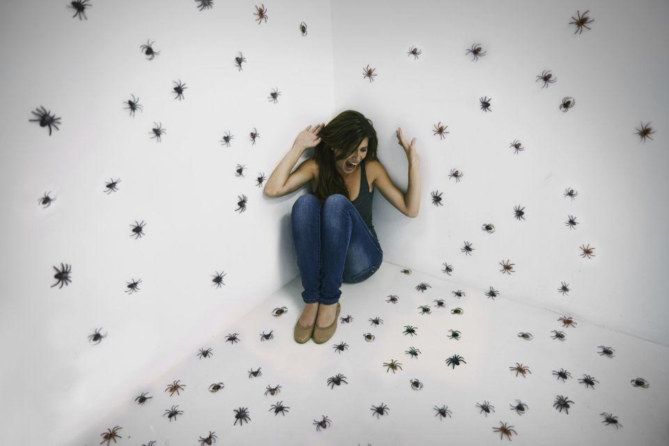 Scared of spiders? You need this easy home hack. Photo: Getty