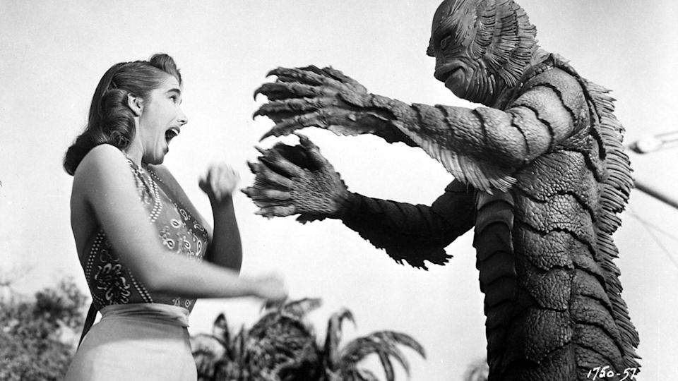 """<p><strong><em>Creature From the Black Lagoon</em></strong></p><p>A group of scientists attempt to capture a beast living in the depths of the Amazonian jungle.<br></p><p><a class=""""link rapid-noclick-resp"""" href=""""https://www.amazon.com/Creature-Black-Lagoon-Jack-Arnold/dp/B008QYIV6C/?tag=syn-yahoo-20&ascsubtag=%5Bartid%7C10055.g.29120903%5Bsrc%7Cyahoo-us"""" rel=""""nofollow noopener"""" target=""""_blank"""" data-ylk=""""slk:WATCH NOW"""">WATCH NOW</a></p>"""
