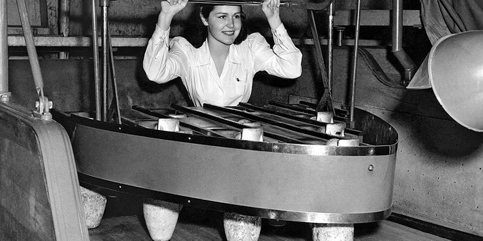 "<p>If you loved to play games and needed some extra change, a pinsetter position at a bowling alley was right up <em>your</em> alley. The workers usually manually organized the pins for every game. The job was sent to the gutter once the mechanical pinsetter was <a href=""https://en.wikipedia.org/wiki/Pinsetter"" rel=""nofollow noopener"" target=""_blank"" data-ylk=""slk:invented by Gottfried Schmidt in 1936"" class=""link rapid-noclick-resp"">invented by Gottfried Schmidt in 1936</a>. </p>"