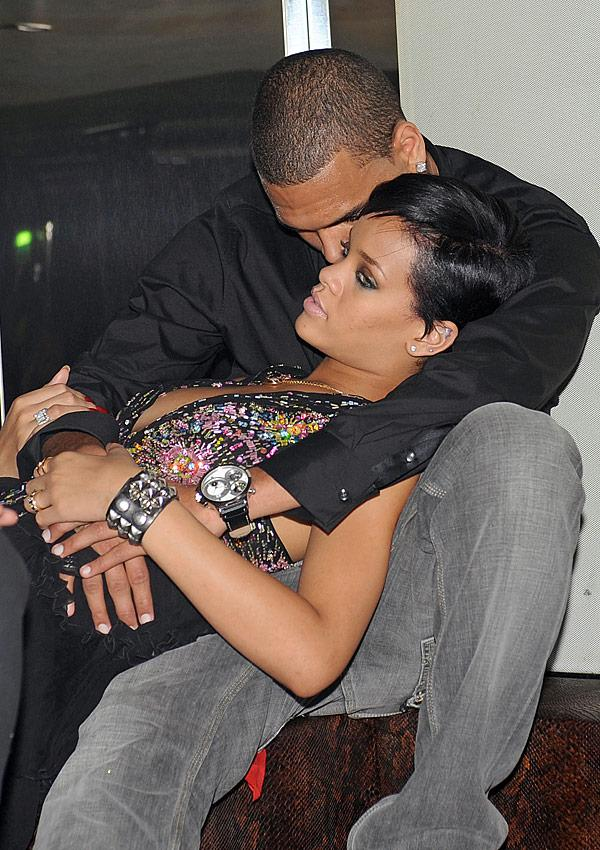 Rihanna & Chris Brown's Private Saturday Date Without Karrueche Tran