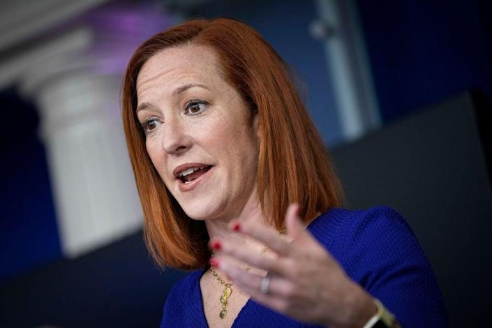 White House press secretary Jen Psaki has stressed that the White House can only do so much in responding to the pandemic. (Getty Images)