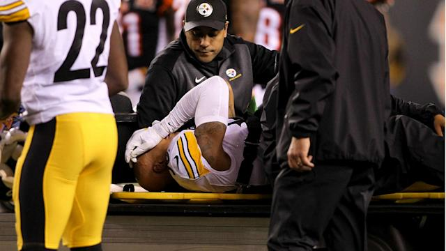"Four days after undergoing spinal surgery, Shazier is showing ""gradual improvement,"" while doctors limit his movement as swelling subsides."