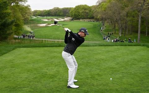 Emiliano Grillo in a practice round at Bethpage Black - Credit: Getty Images