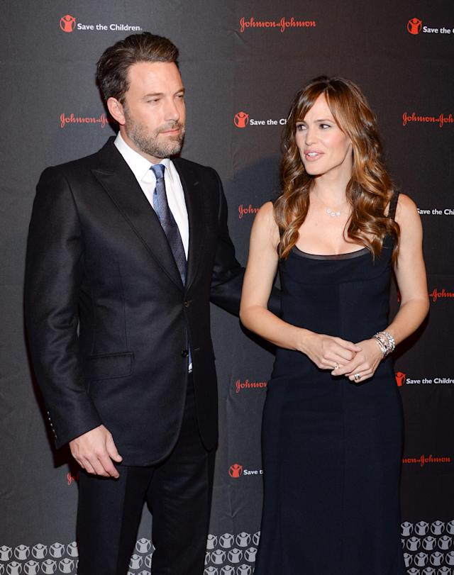 Ben Affleck and Jennifer Garner at the 2nd Annual Save the Children Illumination Gala in 2014 (Evan Agostini/Invision/AP)