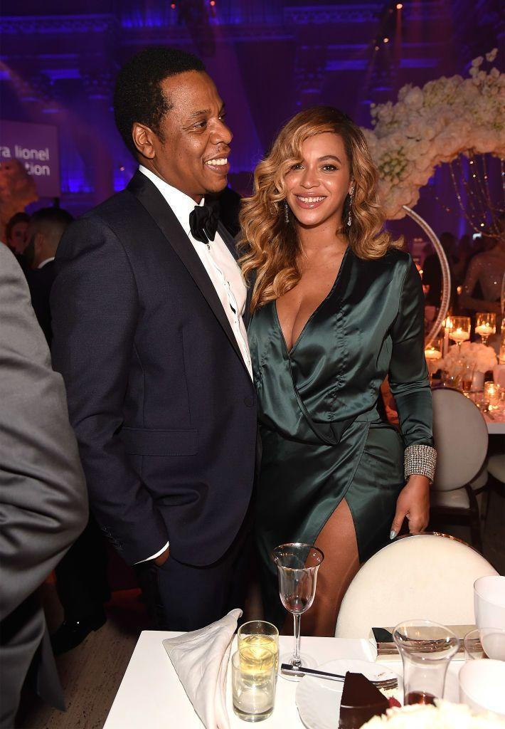 <p>Rihanna invited her mentor and the man who first signed her Jay-Z and Beyoncé to her annual Diamond Ball benefitting her Clara Lionel Foundation at Cipriani Wall Street. </p>