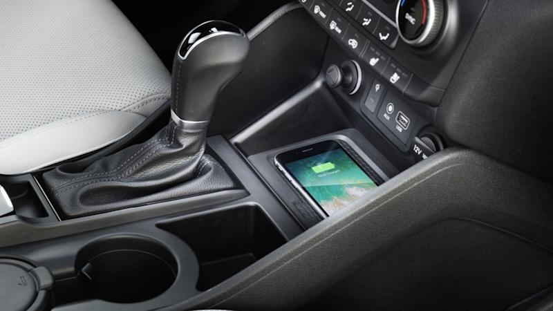 Add wireless charging to your car