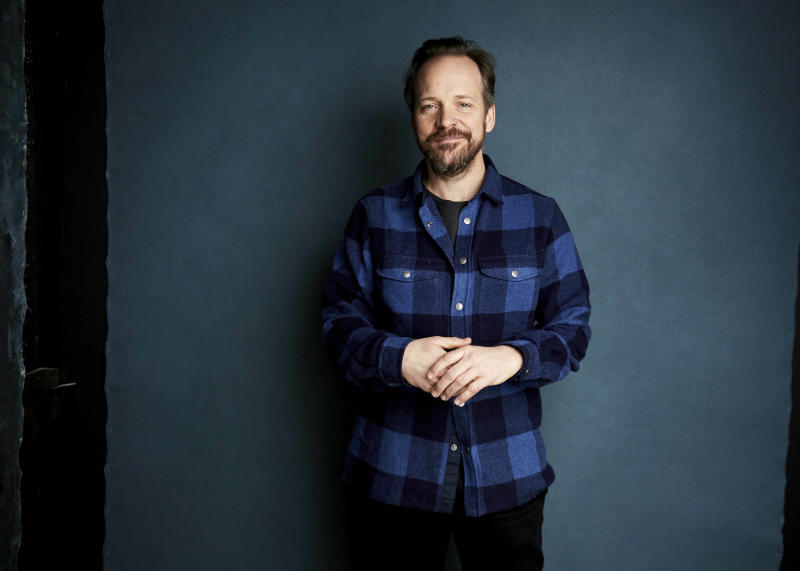 "Peter Sarsgaard poses for a portrait to promote the film ""The Sound of Silence"" at the Salesforce Music Lodge during the Sundance Film Festival on Friday, Jan. 25, 2019, in Park City, Utah. (Photo by Taylor Jewell/Invision/AP)"