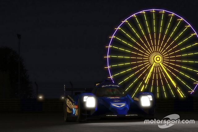 "#24 Veloce Esports 1 Oreca 07 LMP2: Jean-Eric Vergne, Pierre Gasly, Jarno Opmeer, Isaac Gillissen <span class=""copyright"">Xynamic </span>"