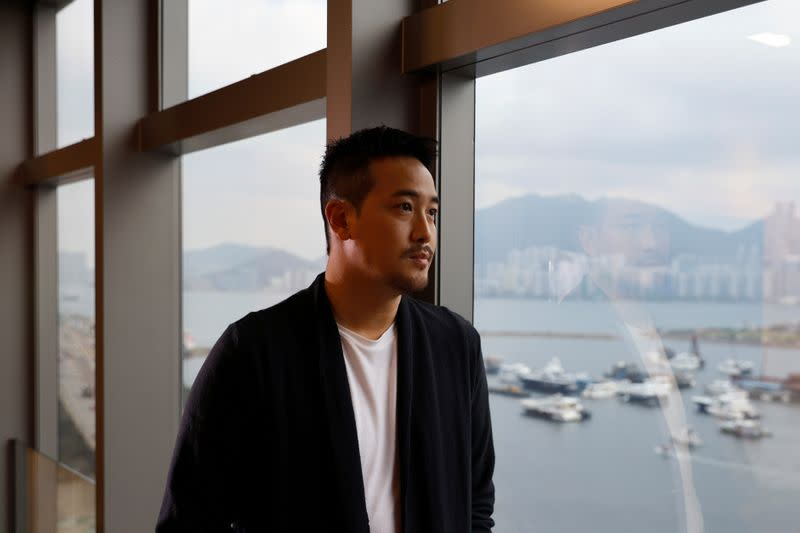"""Derek Tsang, director of """"Better Days"""", poses after interview with Reuters, in Hong Kong"""