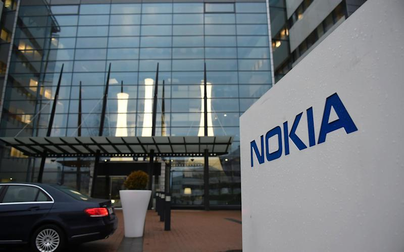 Shares in Nokia slumped more than 6pc on the news on Friday - MARKKU OJALA