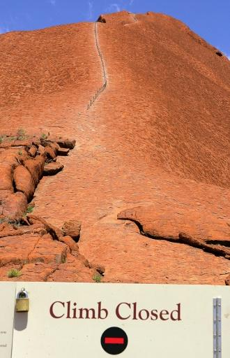 Uluru will be permanently closed to climbers on October 26