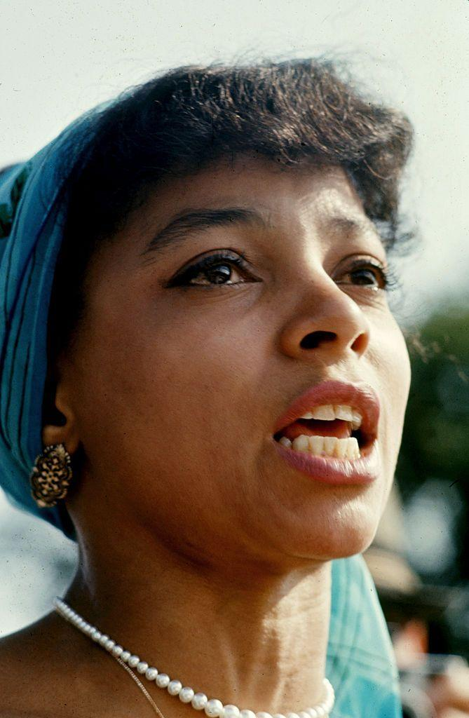 <p>Known for her role in <em>A Raisin in the Sun</em> (1961), and later, <em>American Gangster</em> (2007), the actress was politically active and worked closely with civil rights organizations like the NAACP and the Black Panthers. </p>