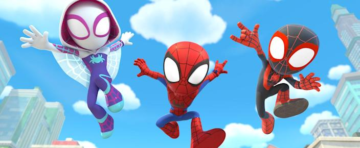 Disney Junior Is Dropping a Marvel Show, Spidey and His Amazing Friends, This August!