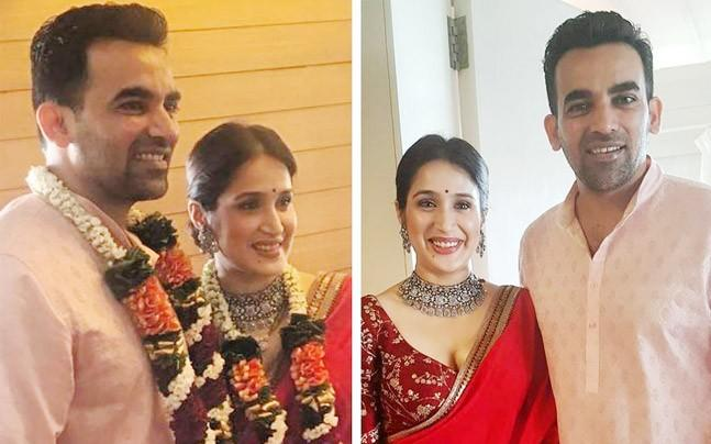 <p>Zaheer Khan and Sagarika Ghatge got married in a private ceremony in Mumbai. </p><p> </p>