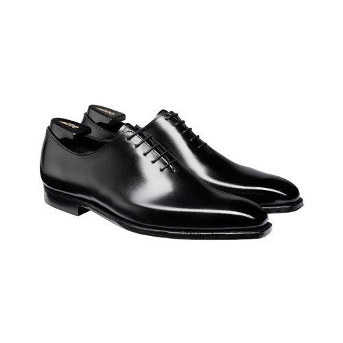 """<p><a class=""""link rapid-noclick-resp"""" href=""""https://www.crockettandjones.com/products/james-black-calf"""" rel=""""nofollow noopener"""" target=""""_blank"""" data-ylk=""""slk:SHOP"""">SHOP</a></p><p>A shoe more than fit for Bond, Crockett & Jones's James lace-up represents the pinnacle of shoemaking prowess. Cut from the finest box calf leather and equipped with a hand-grade sole, each pair is subtly embossed with the 007 logo, and arrives in special edition packaging. </p><p><a href=""""https://www.crockettandjones.com/products/james-black-calf"""" rel=""""nofollow noopener"""" target=""""_blank"""" data-ylk=""""slk:crockettandjones.com"""" class=""""link rapid-noclick-resp"""">crockettandjones.com</a>, £850</p>"""
