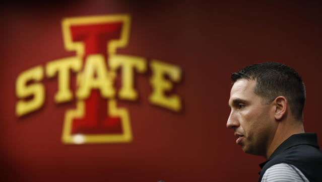 Iowa State is 5-2 in 2017 and ranked No. 25 after beating Texas Tech. (AP Photo/Charlie Neibergall)